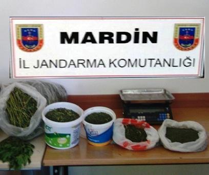 Midyat'ta uyuşturucu yakalandı