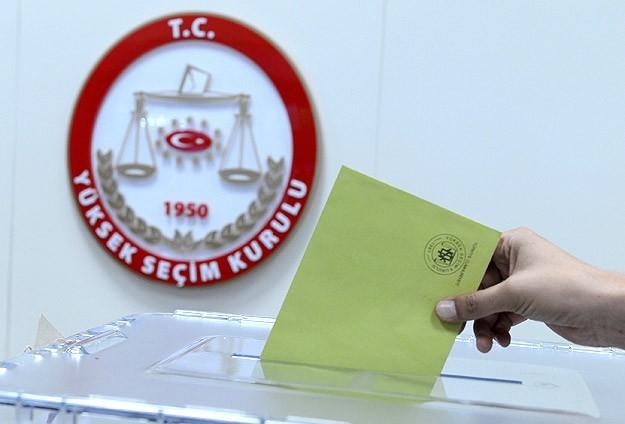 Seçim tarihi 1 Kasım