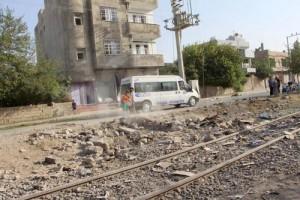 Polis aracına yapılan saldırı bombası tandıra konulmuş