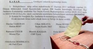 YSK, sandık taşımayı 7 Haziran'da veto etmiş