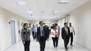 """""""Mardin'deki hastanelerde verilen hizmetlerde aksama yok"""""""