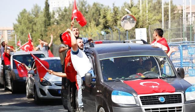 PKK'ya tepki yürüyüşü