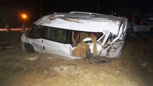 Kızıltepe'de trafik kazası: 2 yaralı