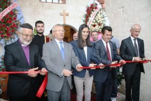 Protestan Kilisesi yeniden açıldı