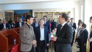Kızıltepe'de kütüphane açılışı