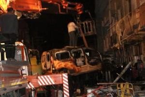 Nusaybin'deki patlamanın enkazında 1 kişiye ait ceset bulundu
