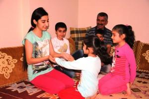 Mardinli aile 4 çocuğa umut oldu