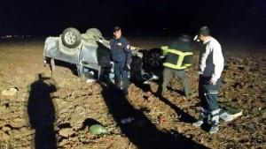 İşçileri taşıyan pikap devrildi: 2 ölü, 11 yaralı