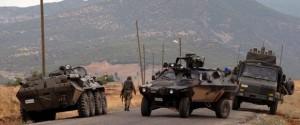Askeri araç mayına çarptı: 3 yaralı