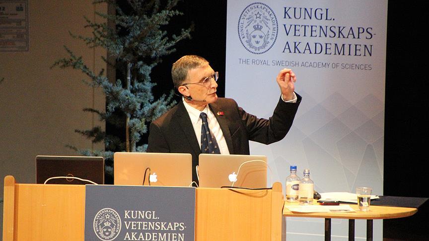 Aziz Sancar: Türk hükümetine bilime verdiği önemden dolayı teşekkür ediyorum