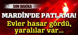 Mardin'de patlama! 1 Şehit, 6 yaralı