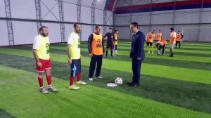 Aziz Sancar futbol turnuvası devam ediyor