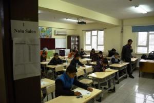 Nusaybin'de ertelenen TEOG sınavı yapıldı