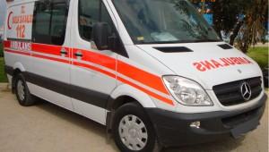 PKK'lılar 112 Acil Servis ambulansını kaçırdı