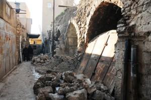 Tarihi çarşı restore edilmeyi bekliyor