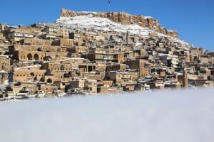 Tarihi Mardin Şehrinde Kartpostallık Görüntüler