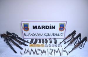 Kızıltepe'de silah ele geçirildi