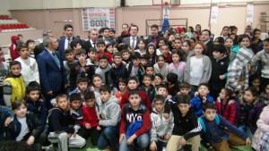 """Kızıltepe'de """"Sporla Bağımlılığa Son"""" projesi"""