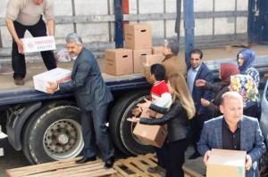 Dündar: Yardımlar ayırım gözetmeksizin dağıtılıyor