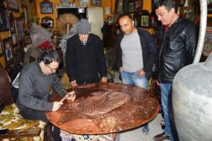 Bakır Sanatı Mardin'in simgesidir