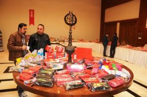 Mardin'de kalem fuarı açıldı
