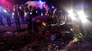 Feci trafik kazası: 20 yaralı