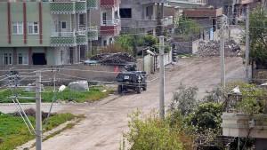 Nusaybinde bina çöktü: 2 Şehit