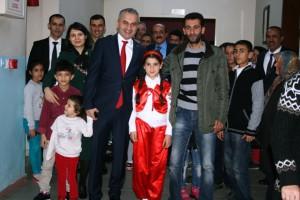 Mehmet Akif Ersoy Ömerli'de anıldı