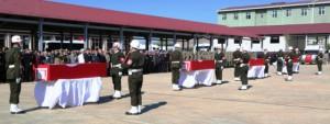 Şehit Askerler törenle uğurlandı