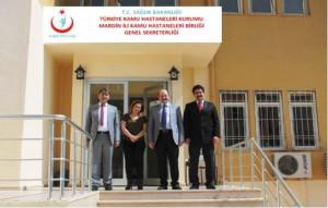 Genel sekreterlik yeni hizmet binasında