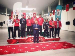 Atıcılıkta Dünya Şampiyonasına katılmaya hak kazandık