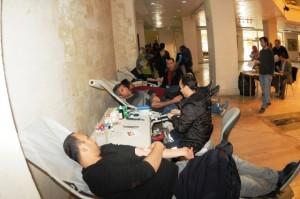 MAÜ Personelinden Kan Bağışı