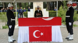 Şehit polis dualarla uğurlandı