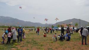 Mardin'de uçurtma festivali