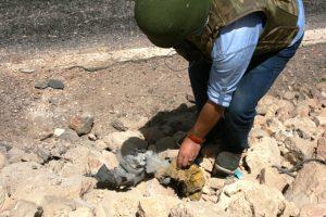 Tüpe tuzaklanmış el yapımı patlayıcı imha edildi