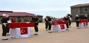 Şehit asker ve köy korucuları için tören düzenlendi