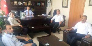 Yeşilay'dan Dika Başkanı Altındağ'a Nezaket Ziyareti