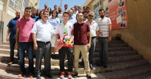Şampiyon Alkanoğlu Öğretmenlerin Gözbebeği