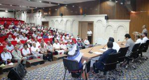 Hacı adaylarına eğitim semineri