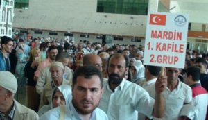 Mardin'den ilk hac kafilesi yola çıktı