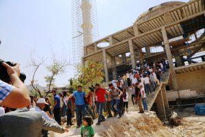 Cami inşaatı çöktü: 5 Yaralı