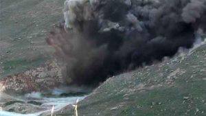Derik'te yola tuzaklanan patlayıcı imha edildi