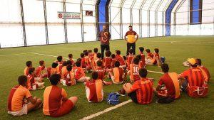 Terör mağduru çocuklar aylar sonra futbol ile buluştu
