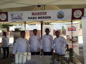 """Mardin Milli Yemeği """"Haşu"""" Bolu'da tanıtıldı"""
