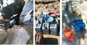 Kızıltepe'de 2,5 ton patlayıcı bulundu