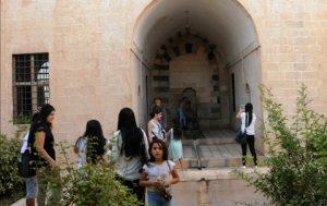 Tarihi mekanlarda turist yoğunluğu