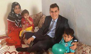 Çocukları hasta olan aileye destek