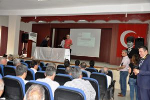 Kızıltepe'de çiftçilere eğitim verildi