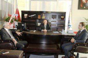 Başkan Türk'ten DİKA'ya ziyaret