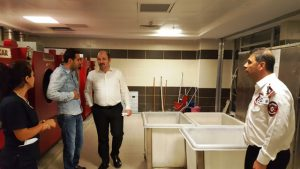 Genel Sekreter Karakuş devlet hastanesini denetledi